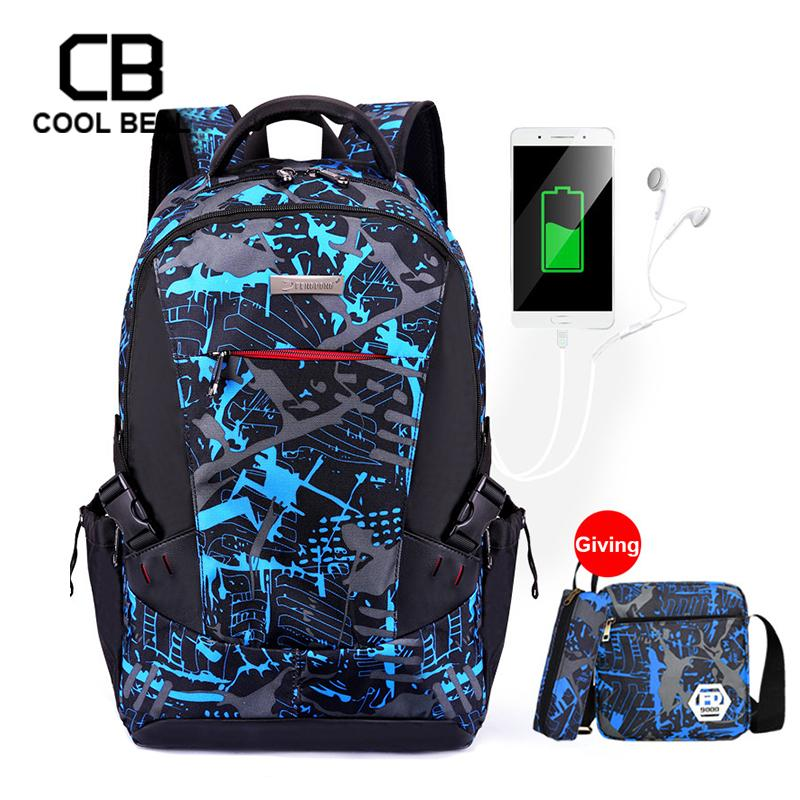 Kids Boys Girls Waterproof Nylon Backpack School Bag Rucksack Pencil Bag Gift