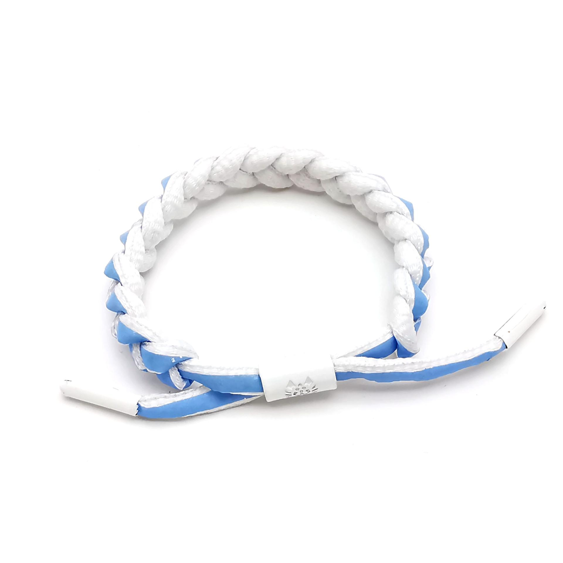 30 piece per lot 2019 hot sell shoelace woven bracelet gradient lovers wristband factory direct sale