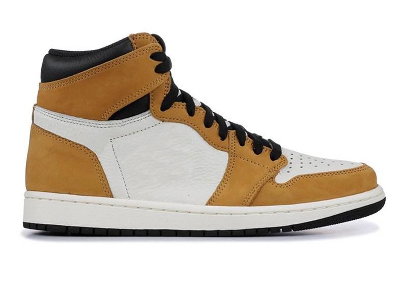 NÃO PARA REVENDA há fotos tênis de basquete de alta qualidade 1 NRG Sem L's Homens 1s Branco Preto Vermelho Sapatilhas Amarelo Com Shoes Box