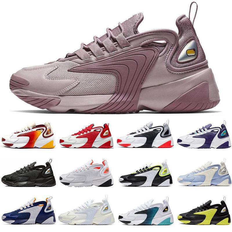 2020 Ampliar m2K zapatos 2K Tekno 2000 de los hombres de las mujeres tres pares de blanco y negro de deportes dinámicos de estilo años 90 amarillos zapatos corrientes de los deportes