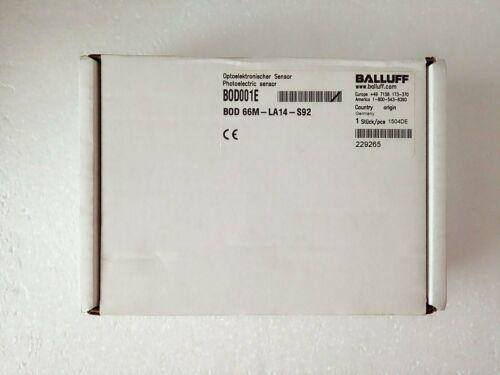Garantía de un NUEVO BALLUFF BOD 66M-LA14-S92 sensor fotoeléctrico UN año