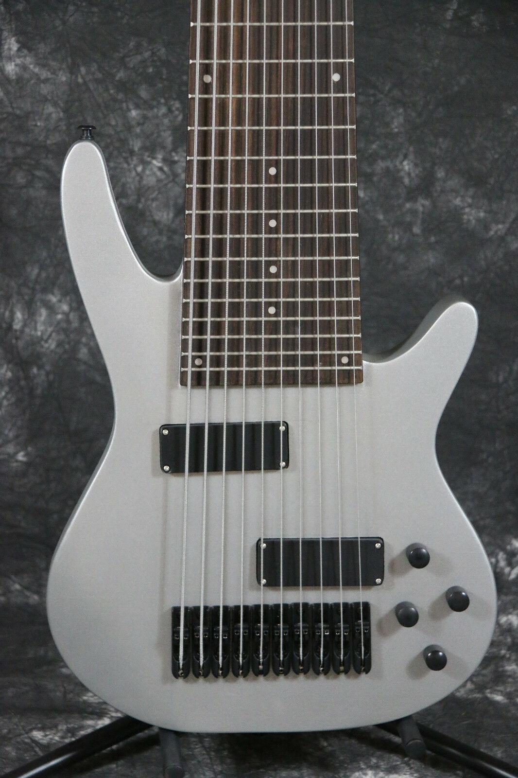 Starshine SR-MBS-10Q 10strings basso elettrico chitarra al collo attraverso il corpo più colore