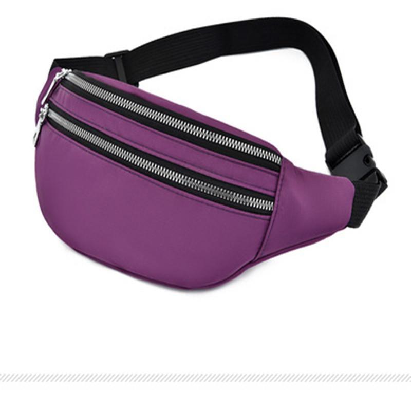 2020 Telefone New Sports cintura saco impermeável Móvel Saco Grande Capacidade Mulheres cintura de viagem Peito homens