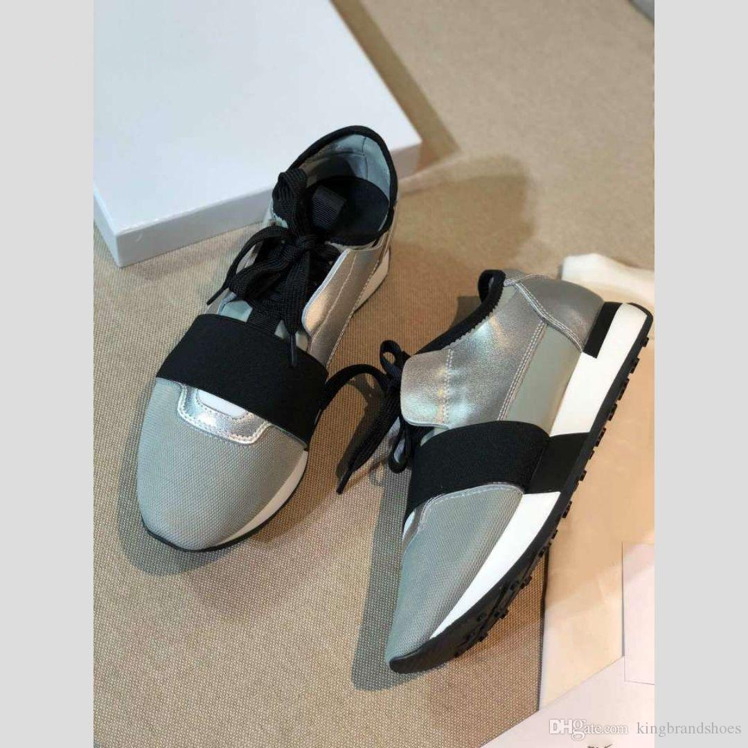 nouvelle mode maille chaussures pour hommes ruban et chaussures pour femmes gris chaussures assorties casual mode sport respirant couleur baskets
