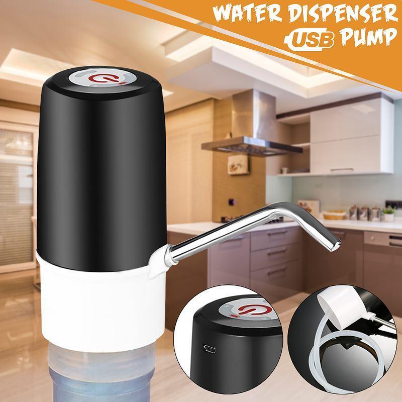 Автоматический электрический водяной насос Диспенсер Портативный Кнопка диспенсер Бутылка Питьевая USB 5V с выключателем