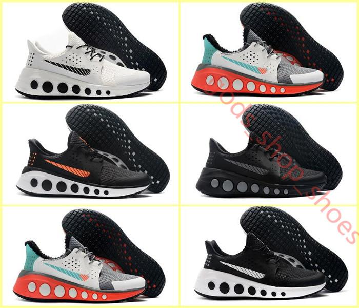 Nike  2019 NEW 캐주얼 신발 남성 스니커즈에 대한 CRUZRMAX 요소 럭셔리 디자이너 브랜드 비밀리에 X 다가오는 운동 트레이너 스포츠 신발 반응