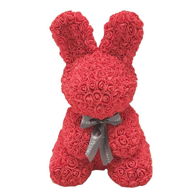 Puppen Rose Künstliche Rose reizende romantische PE Geburtstag Liebe Simulierte Spielzeug-Geschenk