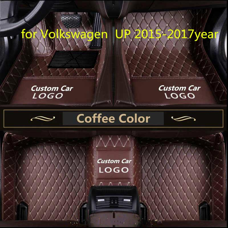for Volkswagen UP 2015-2017year non-slip non-toxic foot pad car foot pad