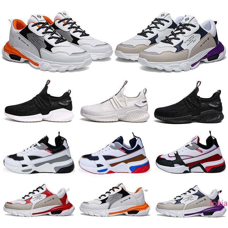 2020 nuovi uomini di modo del hotsale scarpe da corsa tripla balck bianco Multi-color formatori uomo di sport sneakers zapatillas 40-46