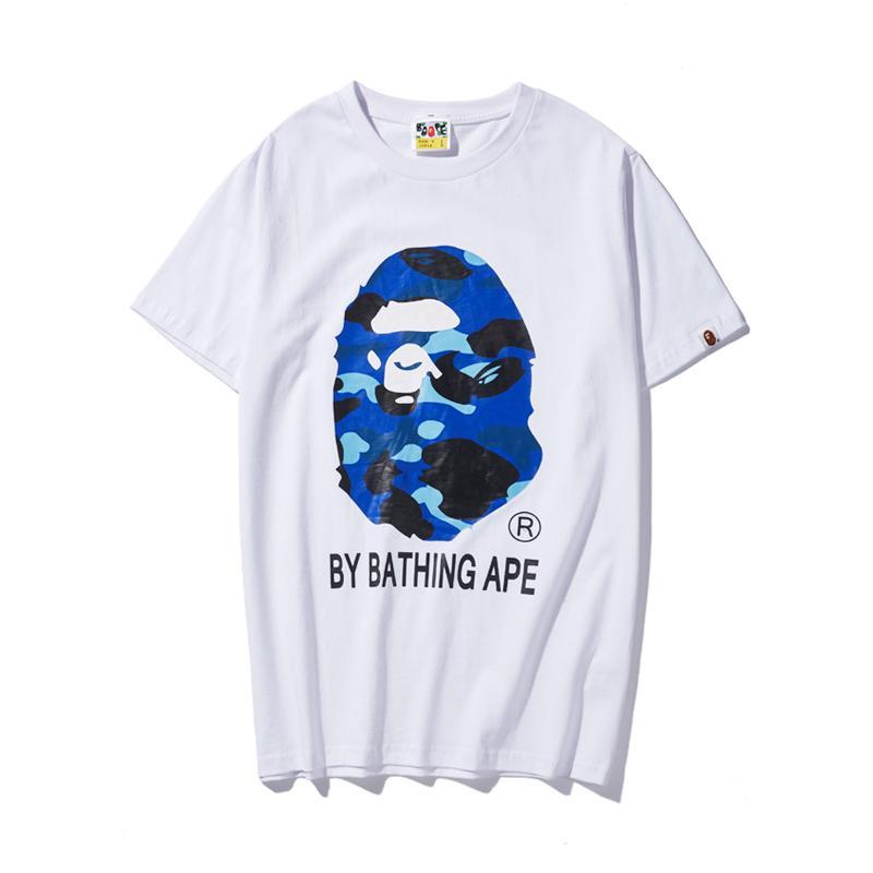Uomo Donna Shirt New Street Fishion progettista 2020 nuovo modo di lusso Mens T-shirt corta marca del manicotto T superiori Mens Streetwear BND 2032602H