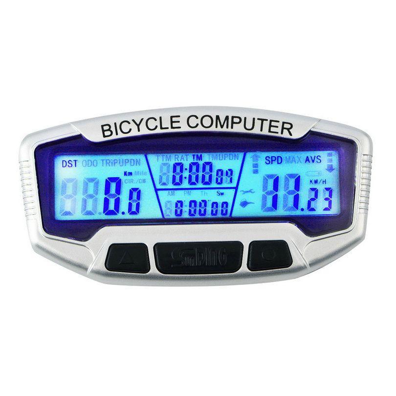 Sıcak Satış Kablolu Su Geçirmez LCD Bisiklet Bilgisayar Bisiklet Bisiklet Bilgisayar Kilometre Sayacı Kilometre Bisiklet Kablolu Velometre Bisiklet Için