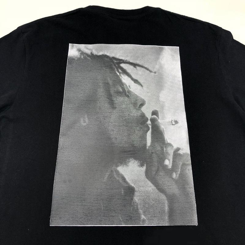 Bob Marley Spliff camisetas de marca para hombre del diseñador de la marca T-shirt de algodón Casual camiseta gráfica para mujeres de los hombres de Hip Hop Reggae Streetwear