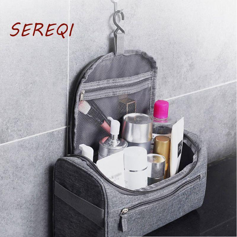 Zipper Organizer Toiletry bag Man/Women Waterproof Makeup bag Cheap Cosmetic beauty Necessaries Storage Travel Wash pouch
