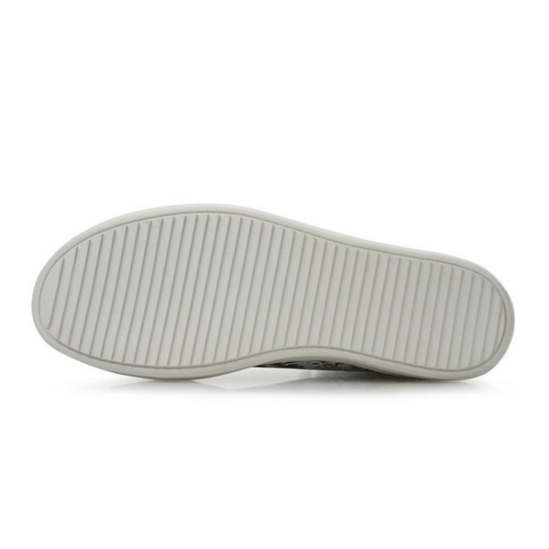 2020 Yeni Erkekler Bilek Platformu Boots Baskılı Orijinal İnek Deri Zip Boots Sokak Stili Hip Hop Ayakkabı Yüksek Top Sneakers Düz Ayakkabı