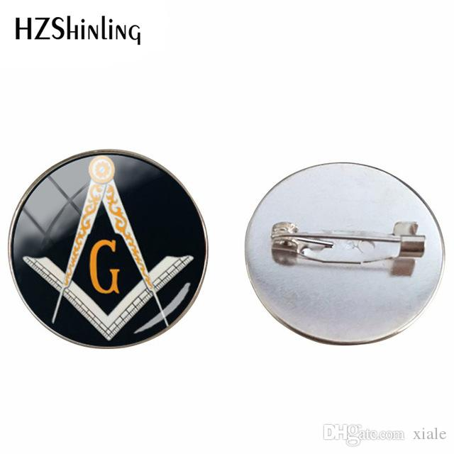 2019 Vintage Masonic Compass Symbolism Brooch Pins Silver Color Masonic  Sign Steampunk Style Jewelry Pins Chothing Accessories From Xiale, $8 55 |