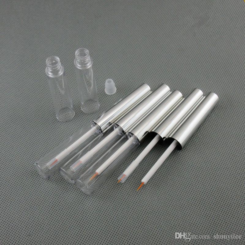 Nuovo arrivo 7ml eyeliner tube, cosmetica cotainer, eyeliner contenitore, make up tubo vuoto, bottiglia di plastica F2017342 spedizione veloce