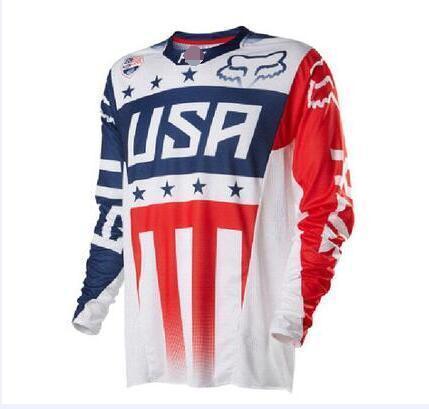Fox 2020 New Tide Marque Downhill vêtements longs -Sleeved Cyclisme Hommes S Racing Vêtements Sports de plein air Off -Road Vêtements Downhill