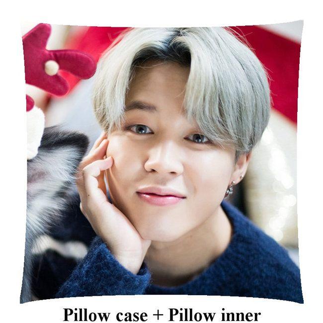 Boyfriend jimin home soft Square Pillow Park Jimin pillows within inner customize Gift