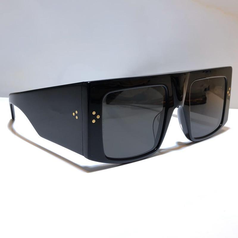 4S105 fashion designer sunglasses for women big square frame new sunglasses Simple atmosphere wild style uv400 protection lens eyewear