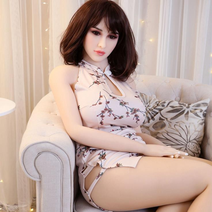 muñecas de la muñeca inflable del silicón de la calidad superior de la muñeca del sexo muñeca real animado del amor para los hombres juguete Vagina artificial realista Sexo