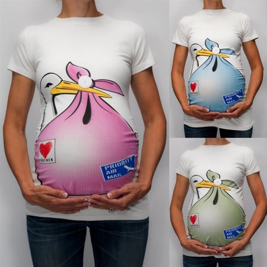 Saison 2019 Robe imprimée maternité mince canard saison 2019 imprimé canard robe de maternité mince