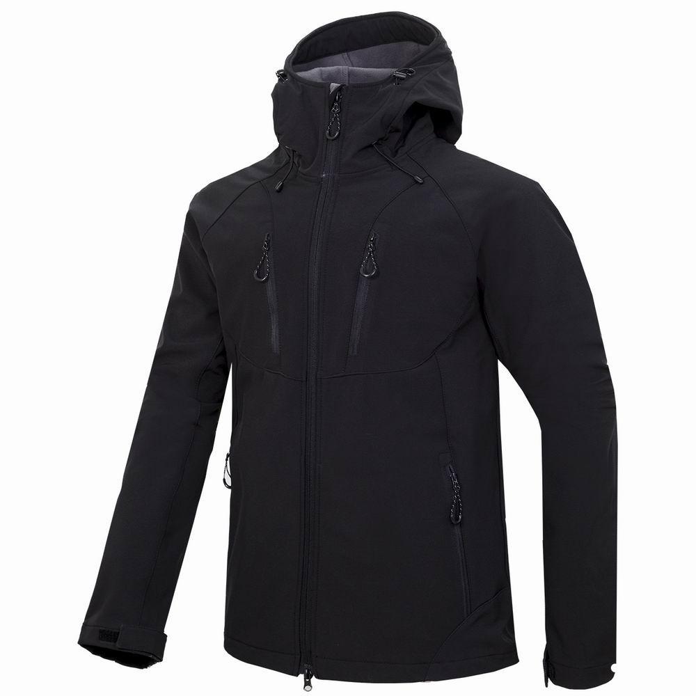 nuovi uomini HELLY giacca invernale con cappuccio Softshell per antivento e impermeabile morbido cappotto Shell Jacket HANSEN Giacche Cappotti 18301
