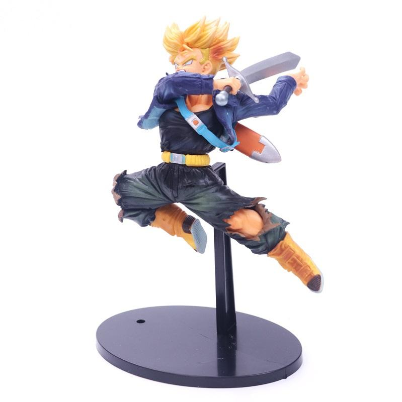 21CM Cartoon Dragon Ball Z Trunks Action Figure PVC Collection figures toys for christmas gift brinquedos