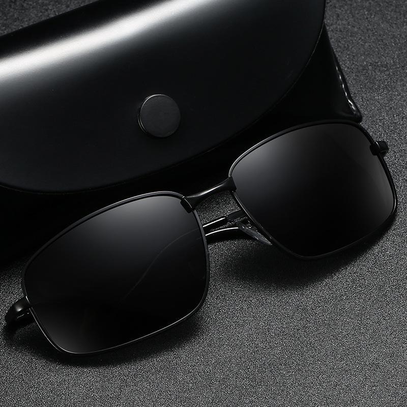 Mens polarisierte Sonnenbrille Driving Fischen Brillen Marke Designer Square Classic-Sonnenbrillen Männer Frauen-Augen-Gläser UV400