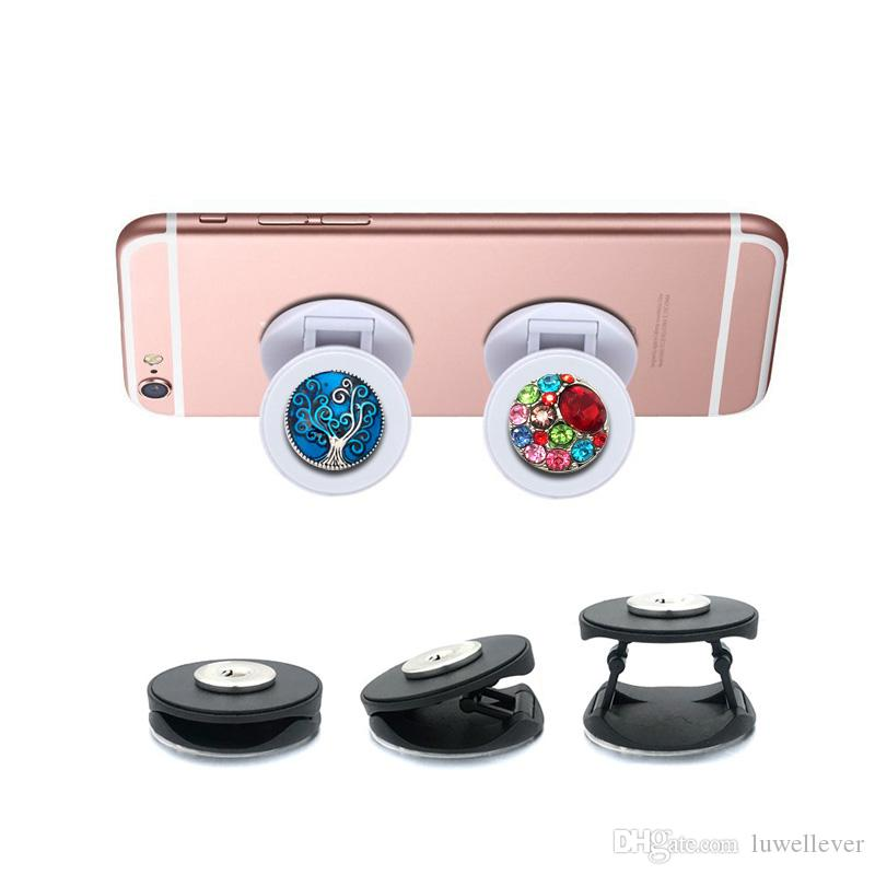 Teléfono caliente Soporte plegable dedo 018 de 18 mm de resorte apto botón de agarre seguro Soporte Soporte Holder ajustable de escritorio móvil