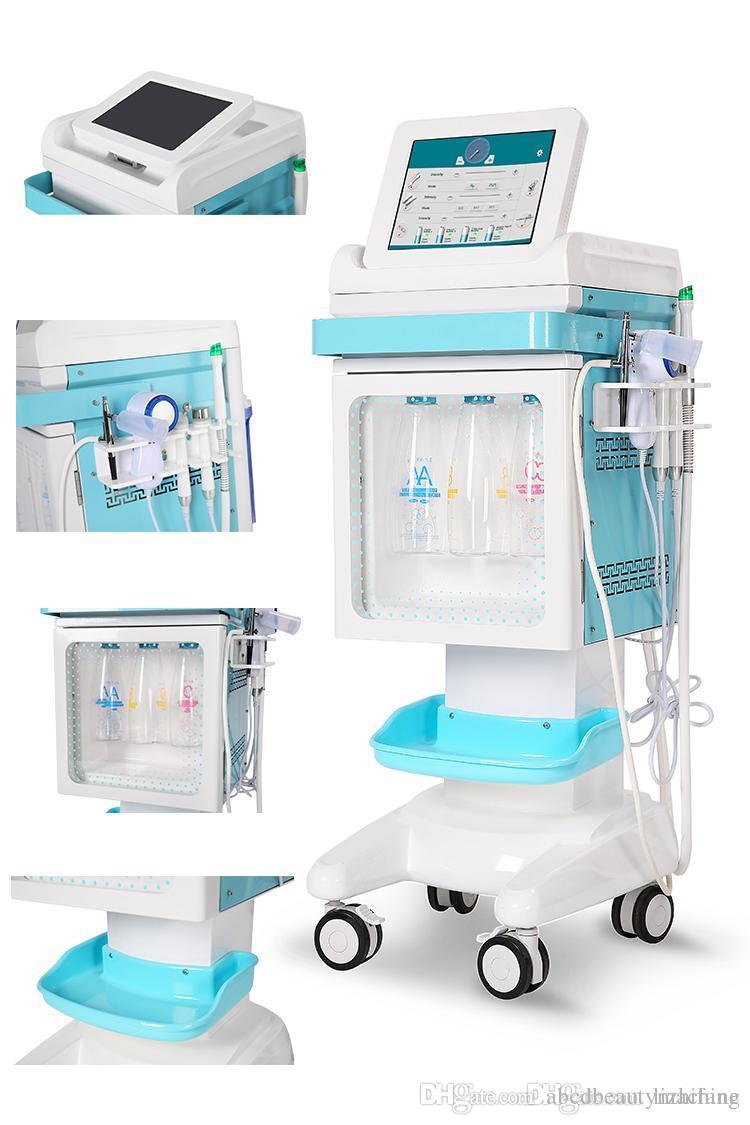 2019 gute Verkauf Wasser Peeling Dermabrasion Sauerstoff Gesichtsreinigung Jet Peel Schönheit Maschine für Hautpflege
