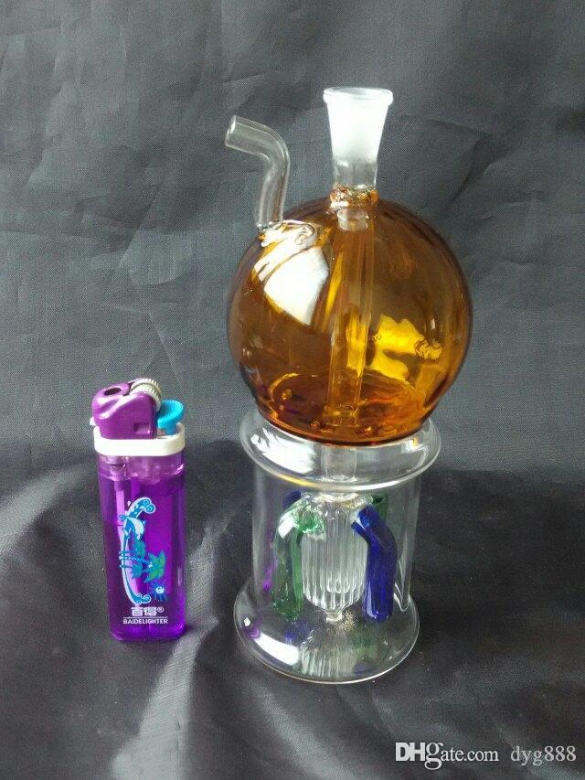 Arredondamento captura hookah Atacado vidro Hookah, vidro de água para tubos, frete grátis