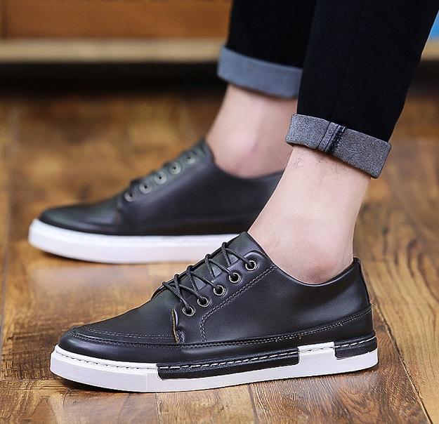 Casual Shoes Men Breathable Canvas