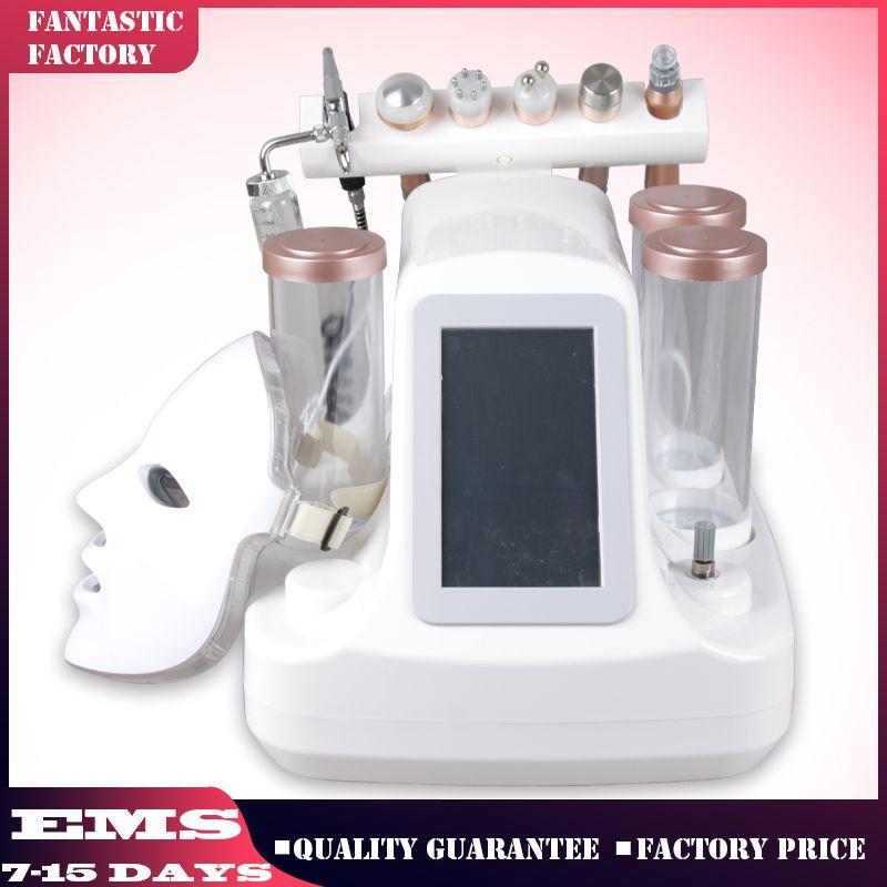 Professionelle 7in1 Hydrafacial Dermabrasion reinigen Peeling Hautmaschine Hydro Gesichtspflege Reiniger Oxygen Peeling Spa-Dermabrasion Maschine
