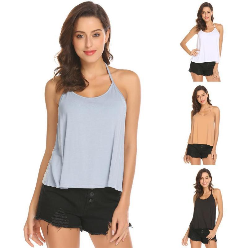 OWLPRINCESS European and American plus size women's summer with the same sexy women's camisole color vest