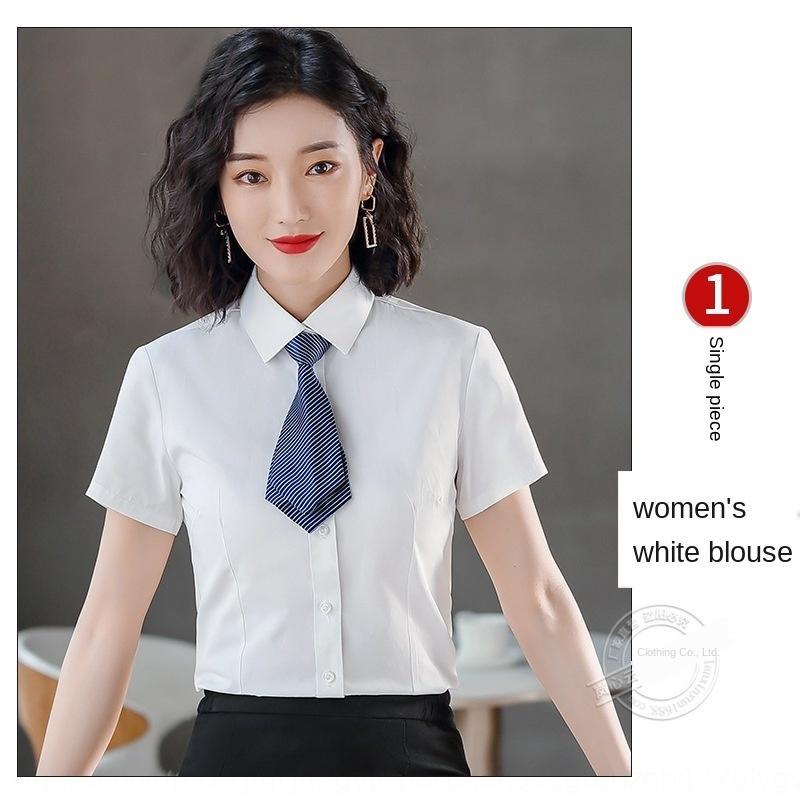 LXHcV affari usura camicia Piccolo responsabile vestito di usura di affari intervista utensili finanza hotel abito formale shirt da donna