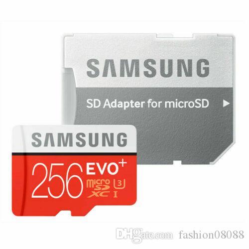 Scheda di memoria SAMSUNG EVO PLUS 256 GB MicroSD Micro SDXC C10 flash con adattatore SD 08