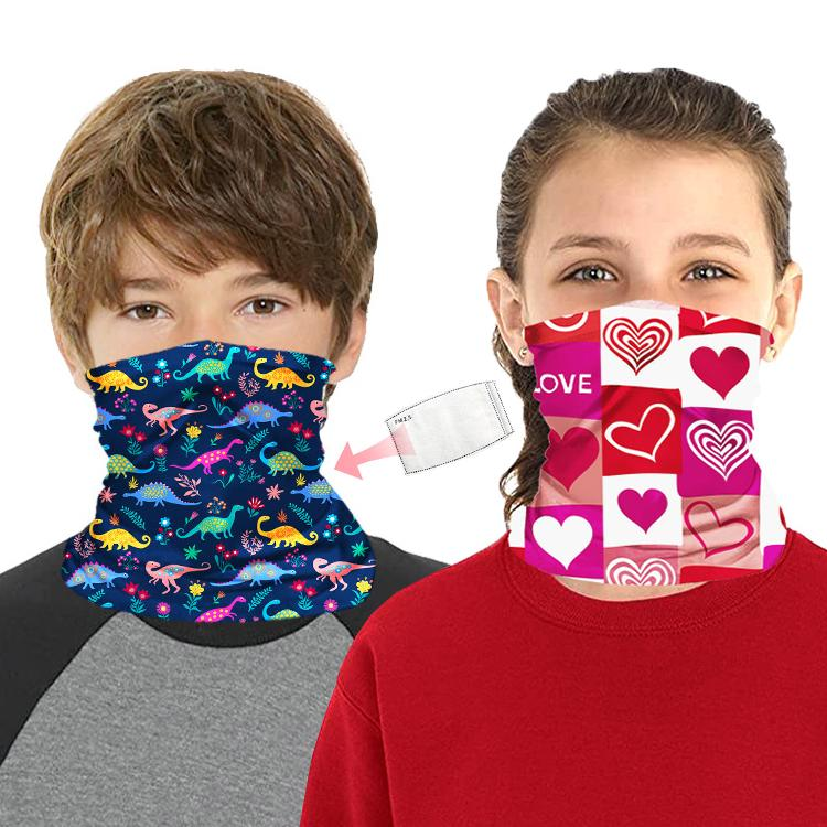 2021 DHL Shipping Kids Neck Gaiter Bandanas Scarf With PM2.5 Filter Multi  Purpose Anti Dust Washable Balaclava Face Cover Protective Mask B80F From  Winter Dream Szu, $517.79 | DHgate.Com