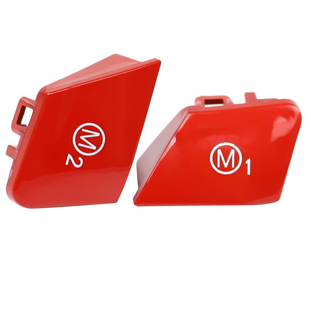 Yepyeni ve Yüksek Kaliteli Araba Direksiyon BMW için M1 M2 Modu Anahtarı Düğme Kapağı
