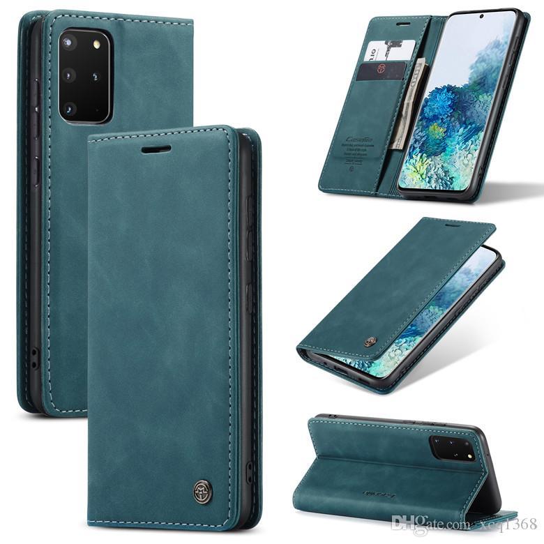 Pour Samsung Galaxy S21 S20 S20 Remarque 20 10 cas Luxe Cuir PU Soft TPU PROTECTION PROTECTEUR DE PROTECTION TÉLÉPÉRATION PHÉRIPHONE 13 12 11 PRO X XS MAX XR 8 7