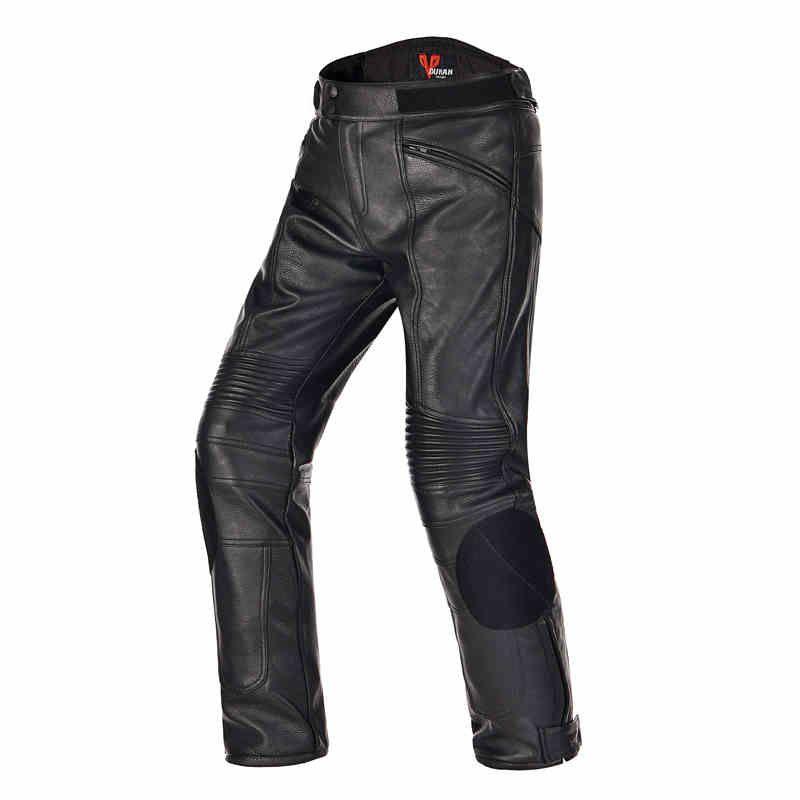 Мотогонки брюки водонепроницаемый ветрозащитный от tongnai PU оснащен защитным оборудованием подходит для осени и зимы
