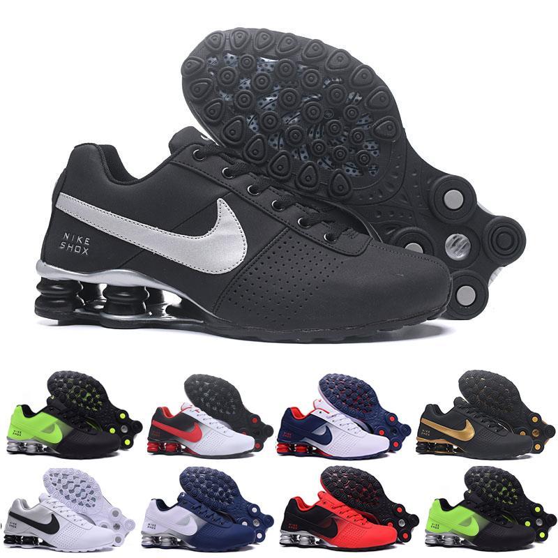 Teslim Erkekler Tüm beyaz Hava Koşu Ayakkabıları Bırak Nakliye Toptan ünlü TESLIM OZ NZ Erkek Atletik Sneakers Spor Koşu Ayakkabıları H9NCQ-9K