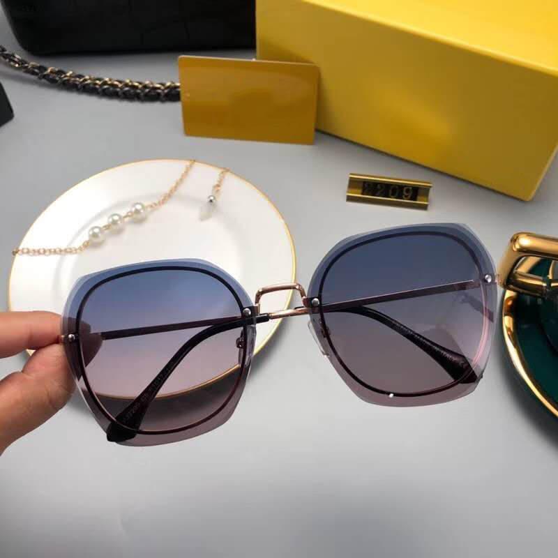 مصمم إمرأة نظارات شمس صيف إمرأة نظارات شمس UV400 PJ2209 خمسة ألوان الخيارات ذات جودة عالية مع صندوق