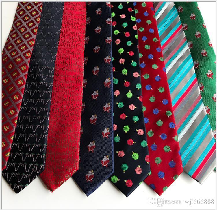 Новый высокой плотности Рождественский галстук, галстук свадьба жениха
