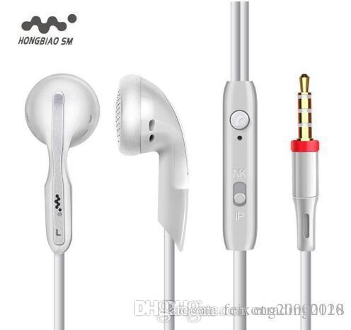 موضة تعزيز المبيعات في الأذن سماعات الأذن 3.5MM الأصلي سوبر مسح باس سماعات الأذن موسيقى ستيريو سماعة