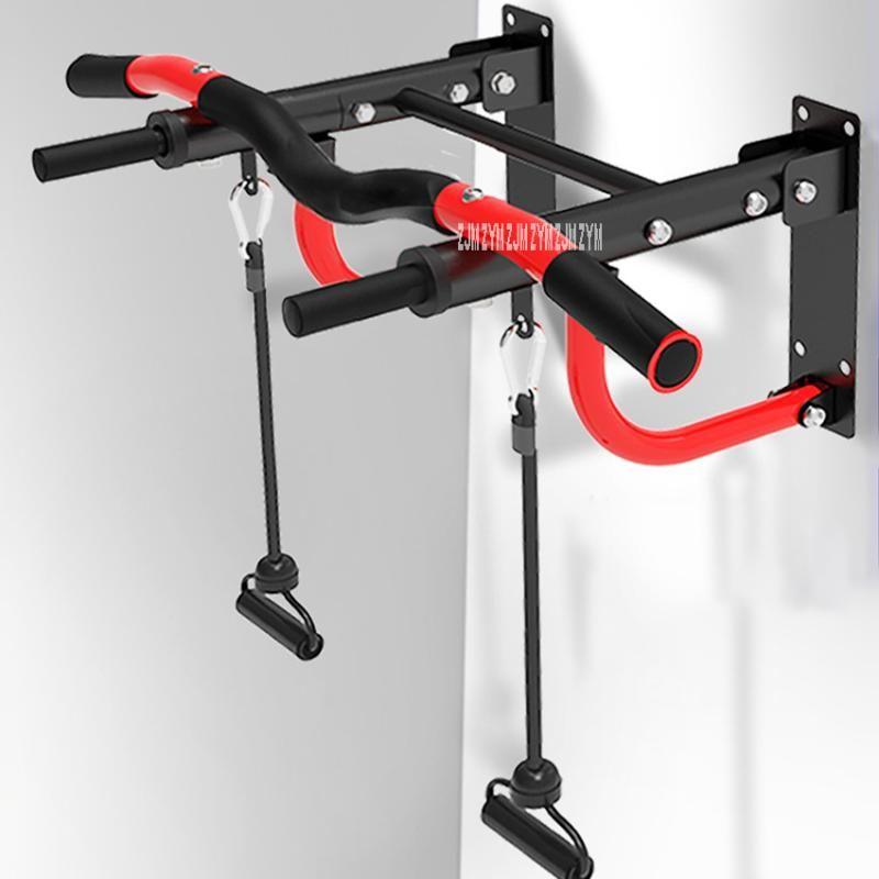 Yatay Barlar YT301 İç Mekan Bar Çok Fonksiyonlu Çekme Cihazı Çelik Boru Duvar Çene Tek ve Paralel Fitness Ekipmanları
