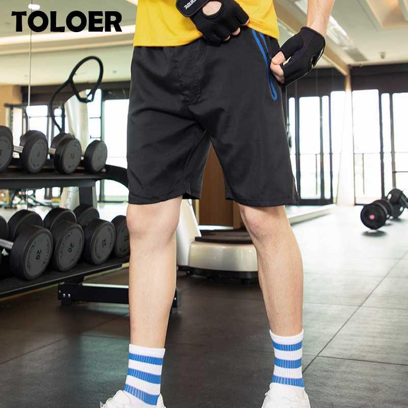 Pantalones cortos para hombres hombres de playa verano seco rápido ropa deportiva homme moda suelta fondos cortos para hombre casual transpirable gimnasio jogger pantalones
