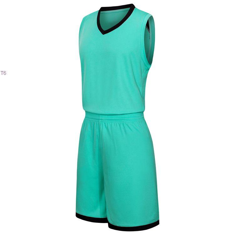2019 Yeni Boş Basketbol formaları baskılı logosu Erkek boyut S-XXL ucuz fiyat hızlı kaliteli Teal Yeşil T002nh nakliye