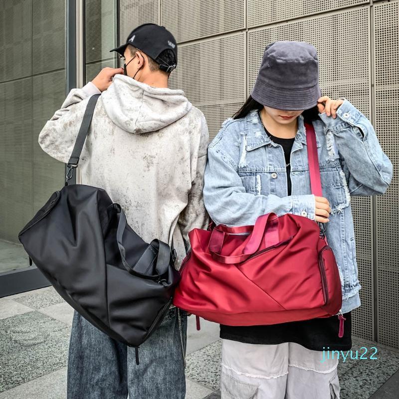 2020 Ejercicio Portátil Yoga Separación bolsa mojada seco impermeable equipaje del bolso del recorrido de fitness hombres de las mujeres en el hombro