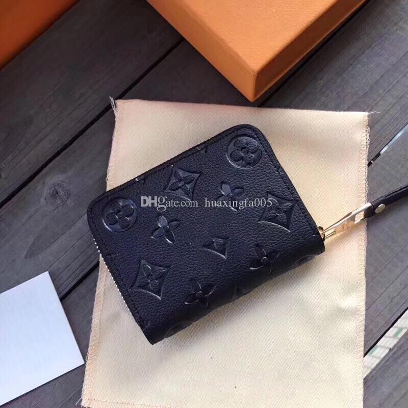 جديد مصمم محفظة مصمم الفاخرة النساء مصمم محافظ رجال محافظ محافظ النساء المحفظة عملة إمرأة محفظة صغيرة مع مربع