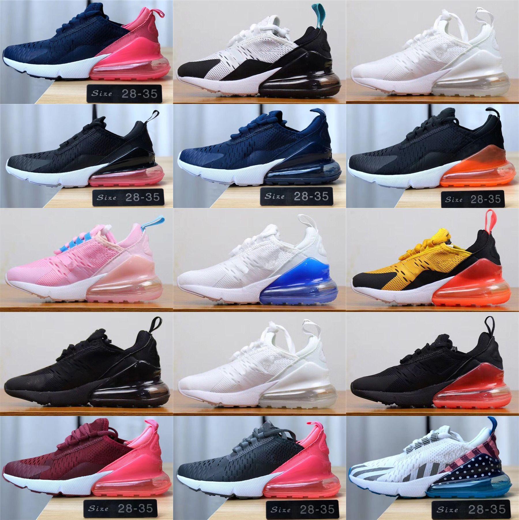2020 crianças Athletic Shoes Crianças 27c tênis de basquete 270S lobo cinzento criança 270 Esporte Sneakers para o menino da menina da criança Chaussures Pour Enfant